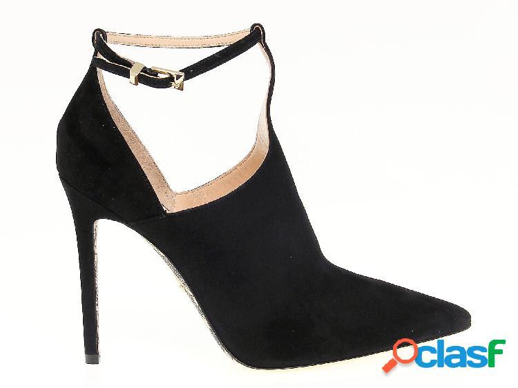 Cesare paciotti scarpe con tacco donna pac500215 camoscio nero