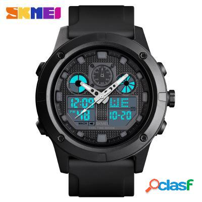 Orologio sportivo da uomo, impermeabile, digitale, led, orologio militare elettronico, orologio da polso da esterno