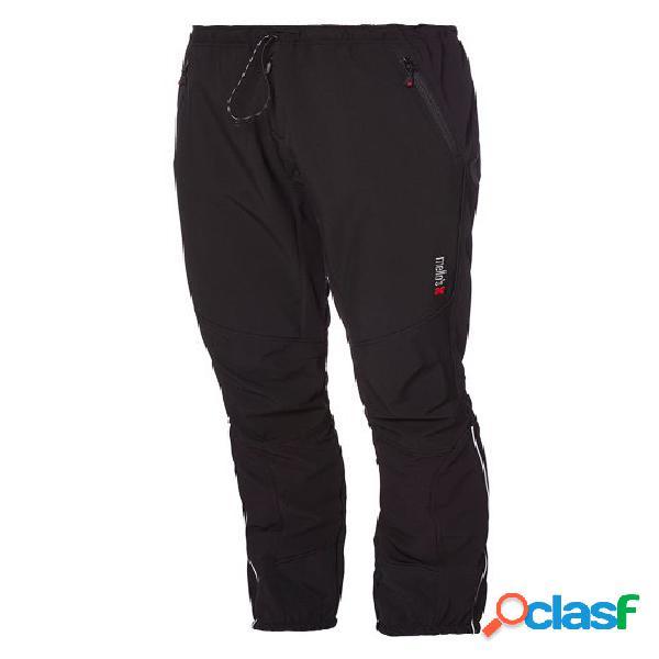 Pantalone tecnico antivento ripid speed - nero-nero,60