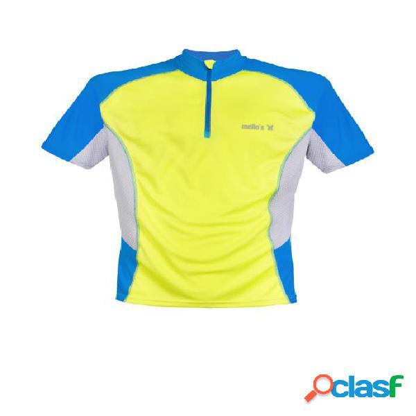 Maglietta manica corta ortles - nero-giallo-giallo,s