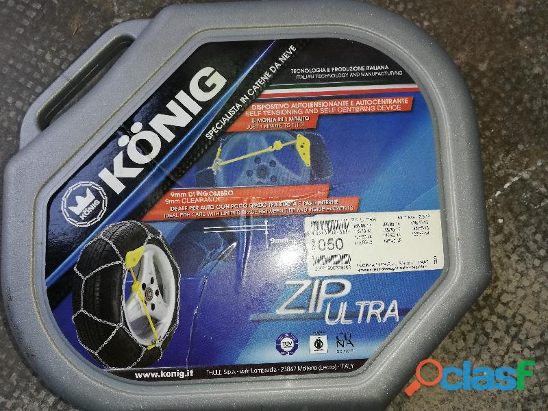 coppia di catene da Neve König Zip Ultra   Gruppo 50