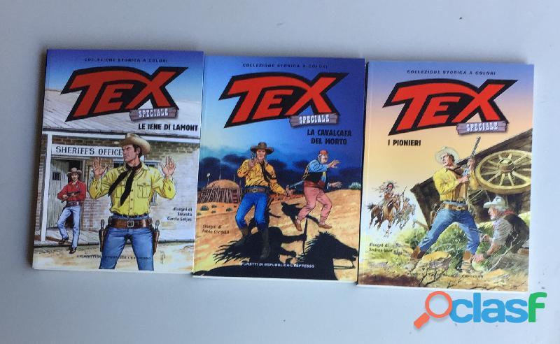 Fumetti TEX Ed.Speciale Collezione Storica a colori