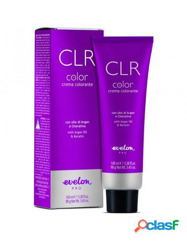 Evelon pro clr color crema colorante con olio di argan e cheratina 4.4 castamo medio rame tubo 100 ml