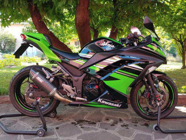 Kawasaki ninja 300 abs krt 2016