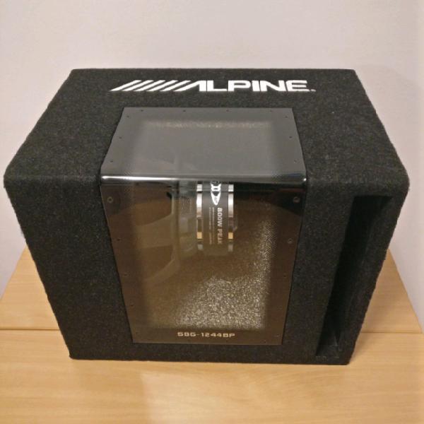 Subwoofer alpine + amplificatore killerline ka.201