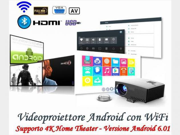 Videoproiettore led per karaoke, film e tv nuovo