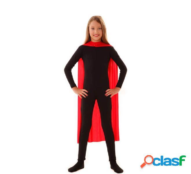 Capo da supereroe da bambino di 90 cm rosso