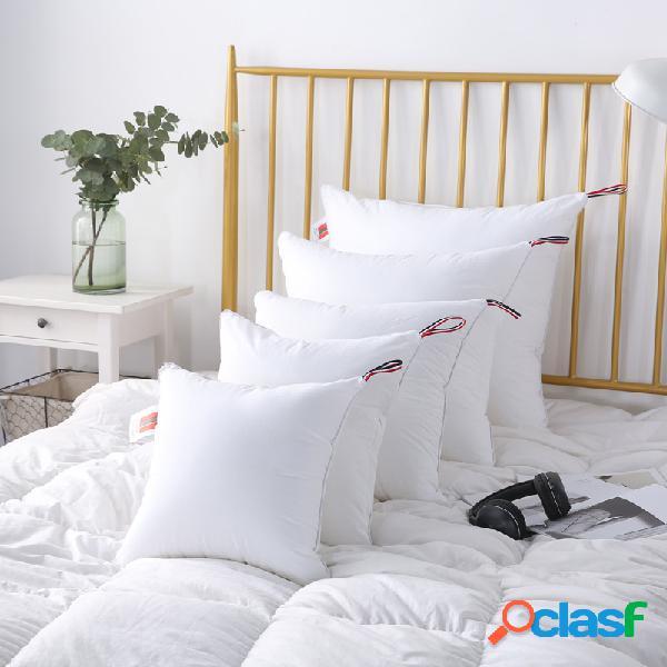 Cuscino in cotone cuscino cuscino nucleo bianco soft collo cuscino per la testa cuscino in tessuto piuma salute cuscino cuscino decorazioni per la casa