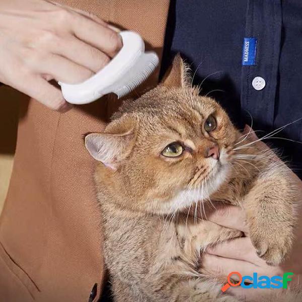 Pettine per animali domestici cani gatti capelli pettine per conchiglia per animali domestici con artefatto da barba speciale