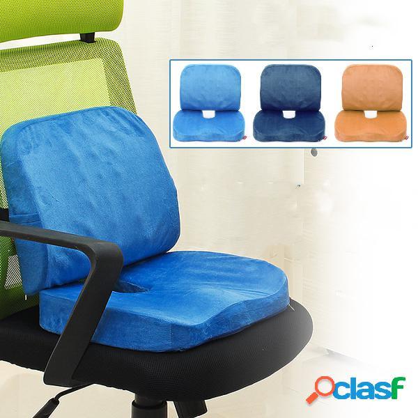Cuscino del cuscino del cuscino di sede del cuscino di sostegno del cuscino lombare mutifunzionale della schiuma 2 in 1
