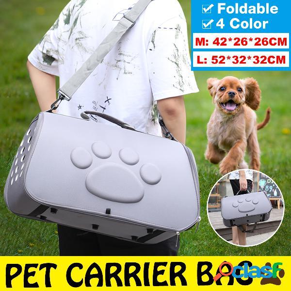 Animali domestici spazio cane borsa eva pet out borsa animale domestico traspirante diagonale portatile borsa
