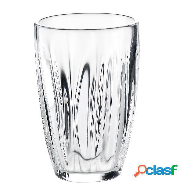Bicchieri bibita diametro 9.3xh12.5 cm - 460cc aqua confezione da 6 pezzi colore trasparente