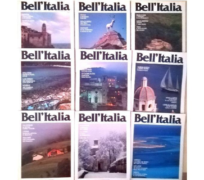Riviste bell'italia dal 1986 al 1989