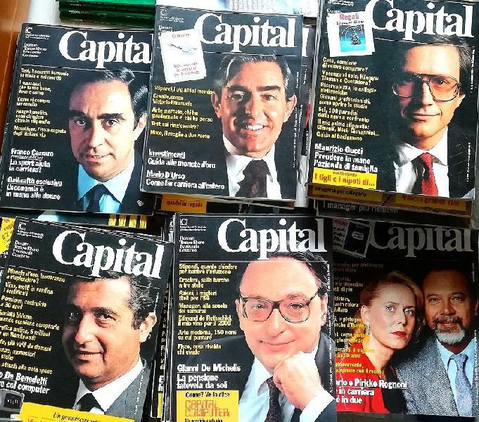 Riviste capital numeri dal 1980 al 1985