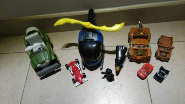 Lotto giocattoli batman cricchetto jeep cars