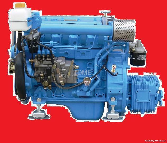 Motore 37 hp marino per barca entrobordo diesel.