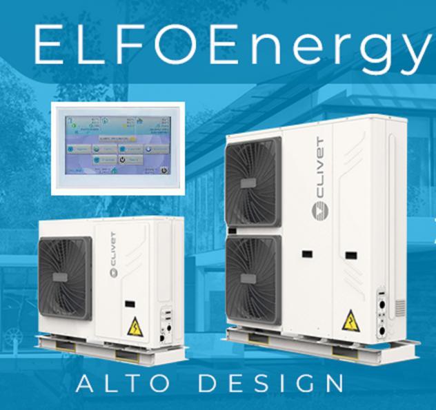 Pompa di calore clivet energy edge wsan-ymi r32 - promo