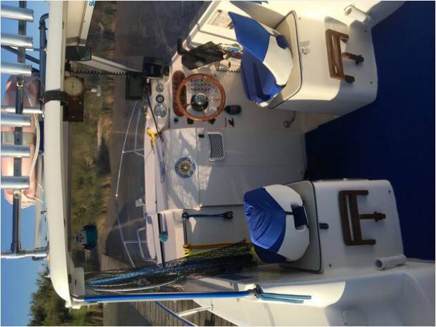 Barca a motoresaver 540cabinfish anno2005 lunghezza mt540