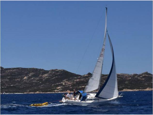 Barca a vela omega 28 anno1979 lunghezza mt9