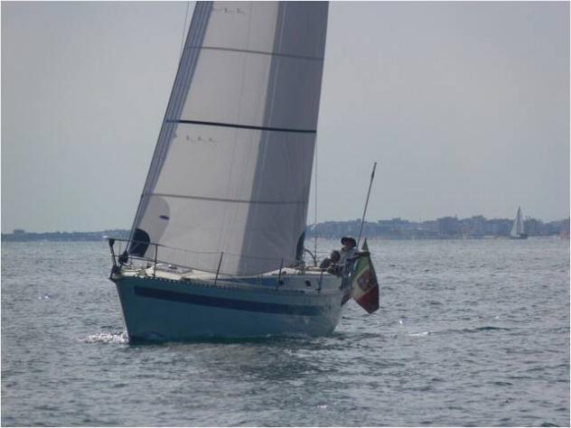 Barca a velaalpa alpa 34 anno1978 lunghezza mt10