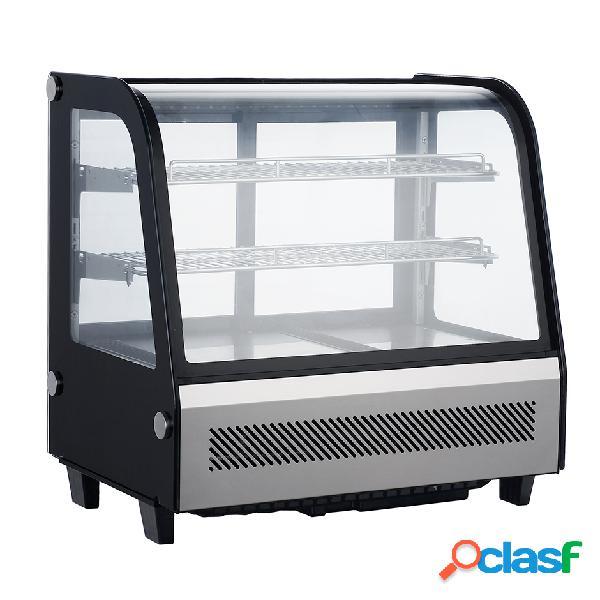 Espositore refrigerato da banco - capacità 100 lt - temp. 0°c/ +12°c
