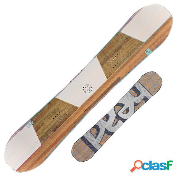 Snowboard head shine (colore: bianco-beige, taglia: 146)