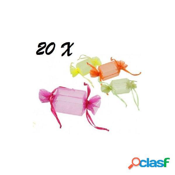 20 scatoline caramella portaconfetti matrimonio