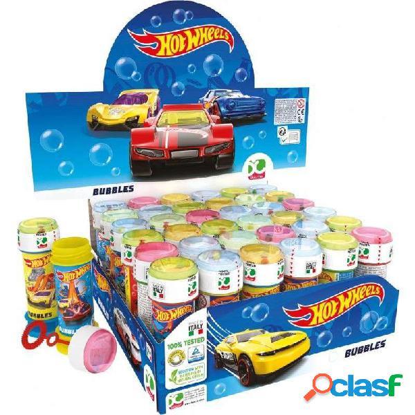 Bolle di sapone hot wheels - automobili da corsa 18 pz