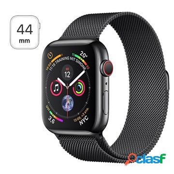 Apple watch series 4 lte mtx32fd/a - acciaio inossidabile, loop milanese, 44mm, 16gb - space black