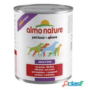 Almo nature daily menu pfc per cani gr 400 con manzo