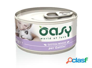 Oasy gatto mousse per gattini gr 85