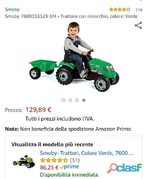 Combo2 biciclette e trattore