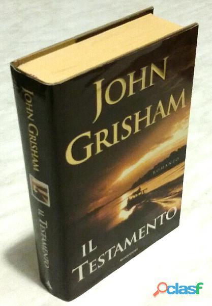 Il testamento di John Grisham; 1° Edizione Arnoldo Mondadori, 1999 nuovo