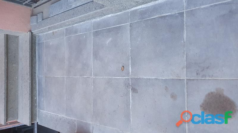 Piastrella per esterno 45x45 cm sp. 20 mm grigio