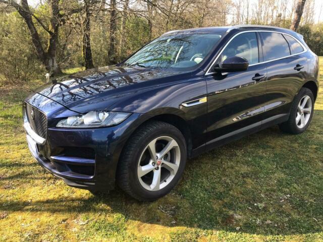 Suv jaguar f-pace