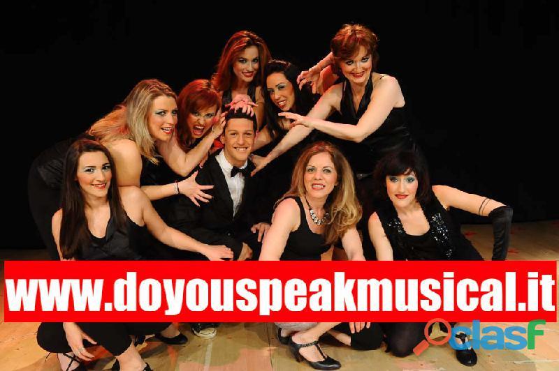 CORSO DI MUSICAL e INGLESE per ADULTI a MILANO
