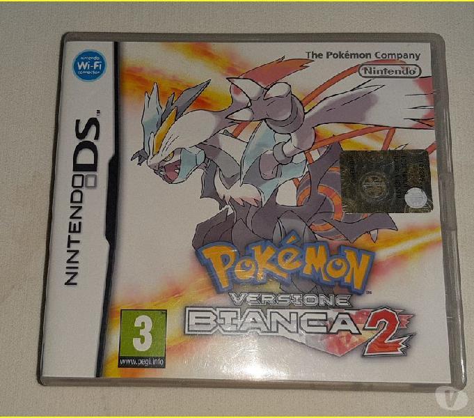 Pokemon bianca 2 gioco per nintendo 3ds
