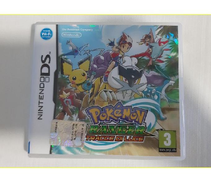 Pokemon ranger tracce di luce gioco per nintendo 3ds