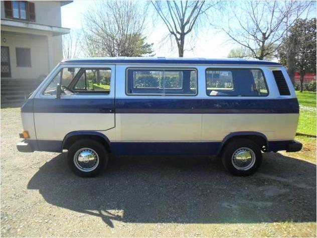 Volkswagen caravelle pulmino nove posti 1984