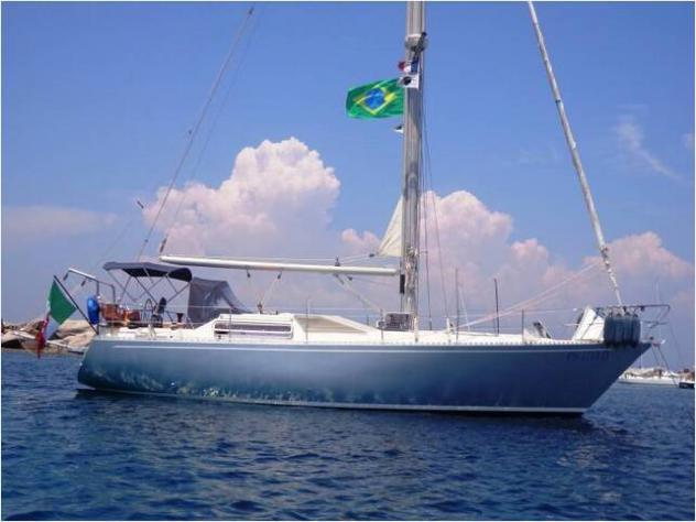 Barca a velaferretti altura 41 deriva mobile anno1985