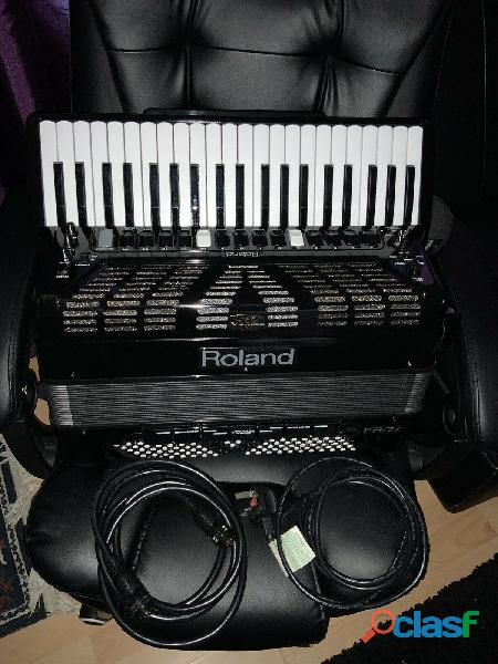 Fisarmonica roland v accordion fr 7x