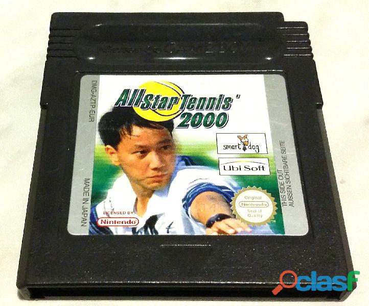 Gioco per nintendo game boy all star tennis 2000 made in japan come nuovo