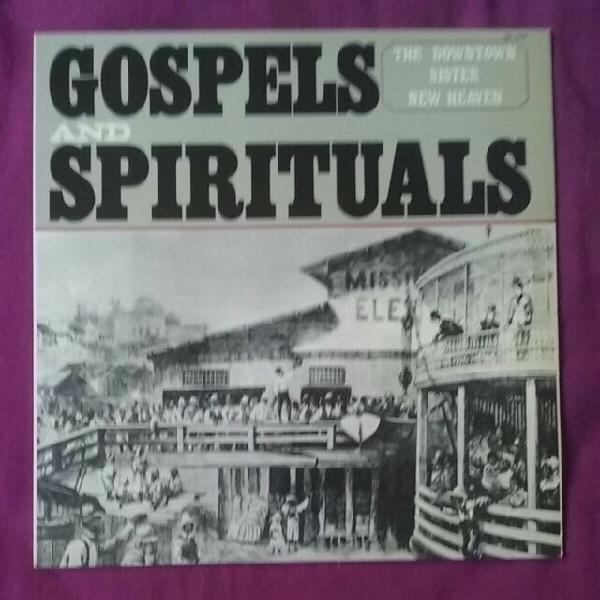 Lp vinile gospel and spirituals,the downtown sister new