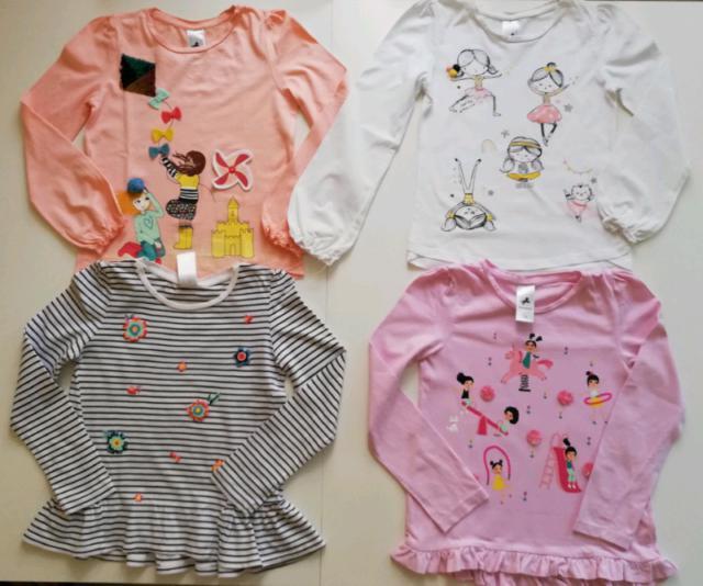 Bimba 7-8 anni:stock 16 pezzi abbigliamento