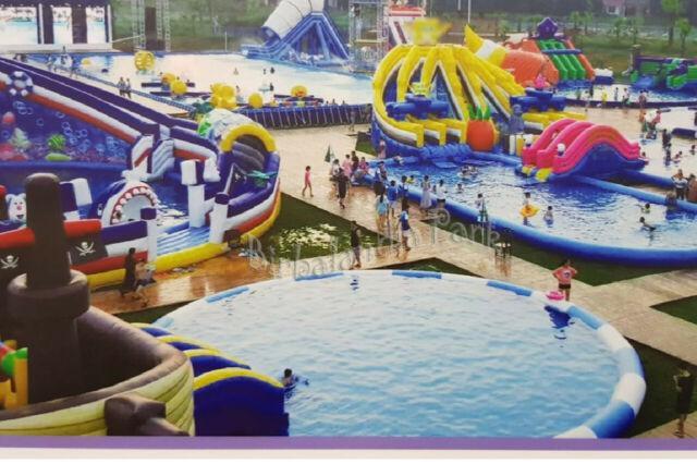 Vendita giochi gonfiabili acquatici acquapark e parchi