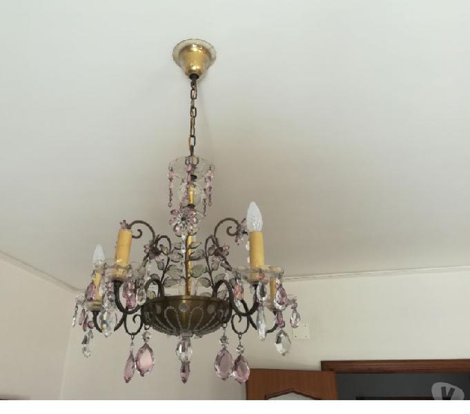 Vendo lampadario di murano