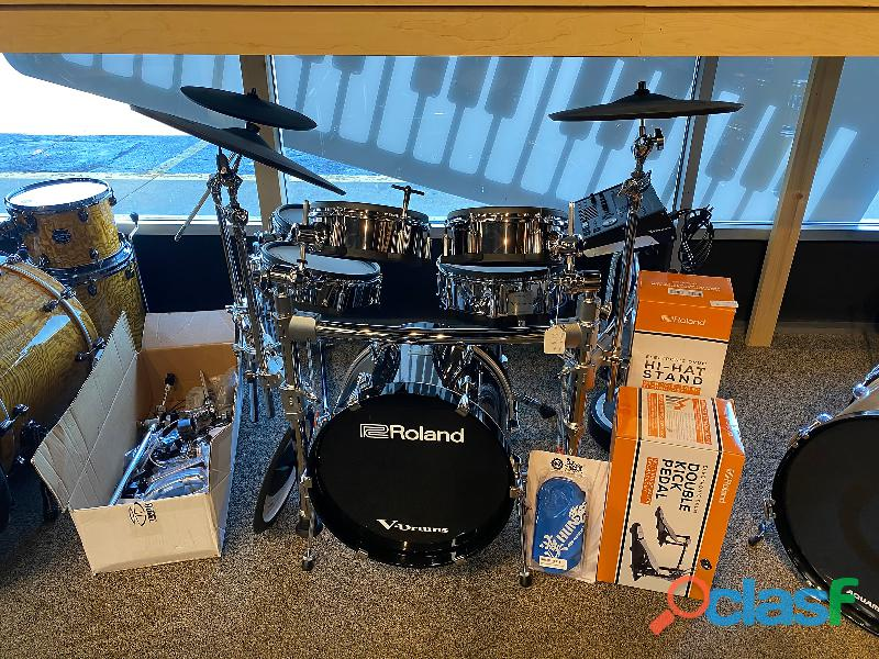 Roland td 50kvx v drum kit