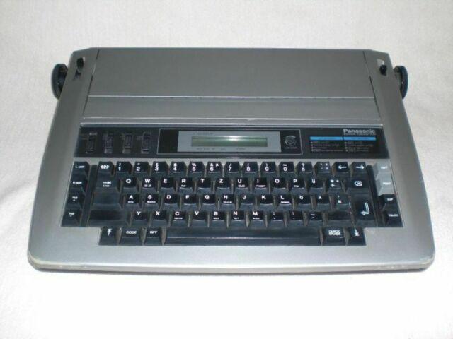Macchina da scrivere elettronica panasonic kx-r193, vendo