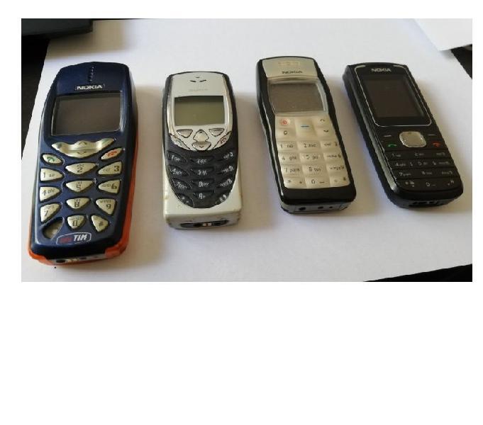 Cellulari nokia 1100 1650 3510 8310 per pezzi ricambio vendo