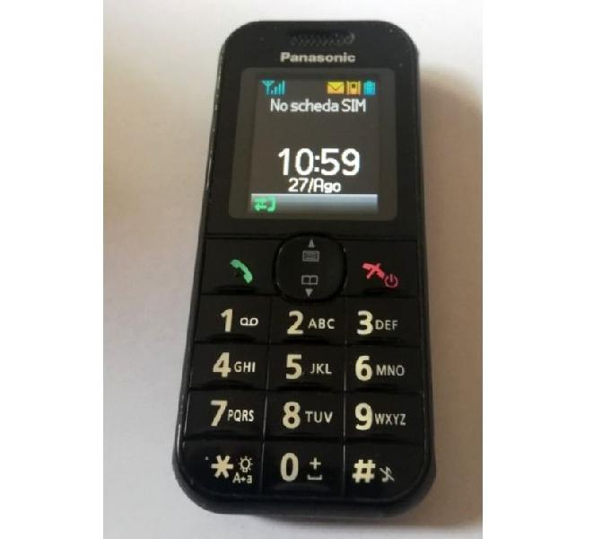 Telefono cellulare tasti grandi panasonic kxtu320